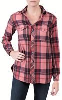 Textile Elizabeth And James Kurt Flannel Red - Lyst