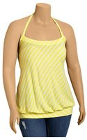 Old Navy Plus Bandedjersey Halter Tops - Lyst