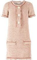 Maison Ullens Bouclé Knit Shift Dress - Lyst
