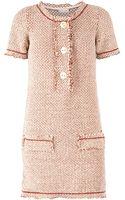 Maison Ullens Bouclã Knit Shift Dress - Lyst