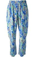 Kenzo Printed Trouser - Lyst