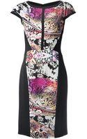 Etro Paisley Panel Dress - Lyst