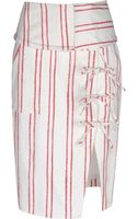 Altuzarra Knee Length Skirt - Lyst