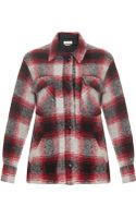 Etoile Isabel Marant Gaston Check Wool Jacket - Lyst