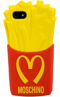 Moschino Fast Food Iphone 5 Case - Lyst
