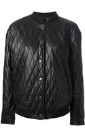 BLK DNM Quilted Leather Jacket - Lyst