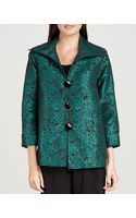 Caroline Rose Pebble Jacquard Jacket - Lyst