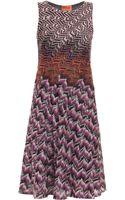 Missoni Lurex Short Dress - Lyst