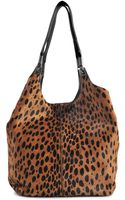 Elizabeth And James Cynnie Leopard Tote - Lyst