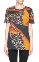 Acne Studios Vista Terrazzo Print Oversize Tshirt - Lyst