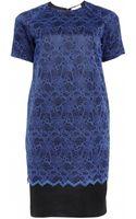 Matthew Williamson Evening Tailoring Lace Shift Dress - Lyst