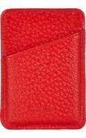 Barneys New York Britain Card Case - Lyst