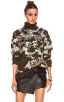 Etoile Isabel Marant Siloway Arty Wool-blend Knit - Lyst