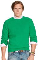 Polo Ralph Lauren Shetland Wool Crewneck Sweater - Lyst