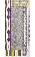 Diane Von Furstenberg New Boomerang Glass Silk Scarf Multicolor - Lyst
