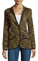 M Missoni Marble Knit Jacket - Lyst
