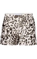 Diane Von Furstenberg Naples Midado Wool and Silkblend Shorts - Lyst