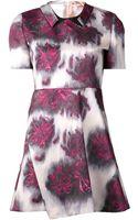 No 21 Floral Wrap Dress - Lyst