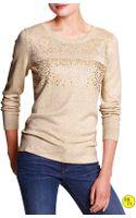 Banana Republic  Sequin Sweater - Lyst
