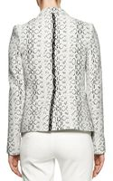 Reed Krakoff Abstract Viperprint Blazer - Lyst