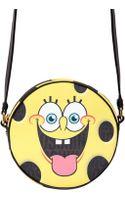 Moschino Sponge Bob Coated Canvas Shoulder Bag - Lyst