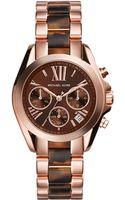 Michael Kors Ladies Bradshaw Mini Two-tone Chronograph Watch - Lyst