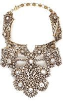 Erickson Beamon Temptress Crystal Plastron Necklace - Lyst