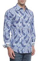 Robert Graham Belmre Paisleyprint Sport Shirt - Lyst
