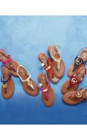 MICHAEL Michael Kors Plate Thong Sandal - Lyst