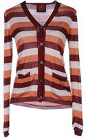 Happy Sheep Striped Silk-Blend Cardigan - Lyst