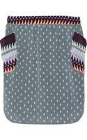 Suno Printed Silkcrepe Mini Skirt - Lyst