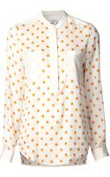 3.1 Phillip Lim Polka Dot Blouse - Lyst