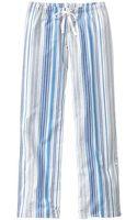 Gap Printed Poplin Rollup Pants - Lyst