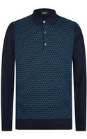 John Smedley Rectangle Polo Shirt - Lyst
