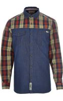 River Island Red Tokyo Laundry Check Shirt - Lyst
