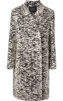 Lanvin Leopard Print Coat - Lyst