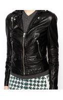 Muubaa Selengor Leather Biker Jacket - Lyst
