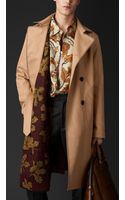 Burberry Reversible Contrast Trench Coat - Lyst