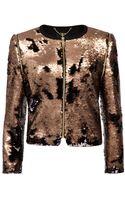 Ted Baker Sequin Jacket - Lyst