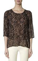 Inwear Seanna Leopard Print Top - Lyst