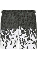 Orlebar Brown Falling Feathers Bulldog Swim Shorts - Lyst