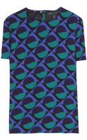 Marc By Marc Jacobs Etta Printed Crepe Top - Lyst
