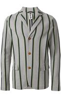Bark Striped Blazer - Lyst