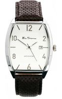 Ben Sherman Curved Dial Leather Strap Watch Bs082 - Lyst