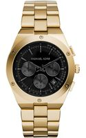 Michael Kors Womens Chronograph Reagan Gold-tone Stainless Steel Bracelet Watch 42mm - Lyst