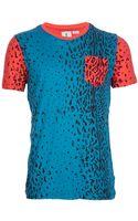 Adidas Originals x Opening Ceremony Bitone Print Tshirt - Lyst