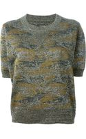 Isabel Marant Camouflage Sweater - Lyst