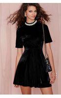 Nasty Gal Vivienne Velvet Dress - Lyst