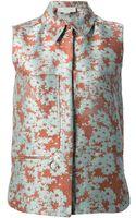 Stella McCartney Sleeveless Faith Shirt - Lyst