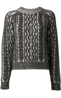 Proenza Schouler Twotone Sweater - Lyst